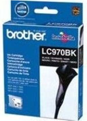 Brother LC970BK  - Print cartridge - 1 x black - 350 pages