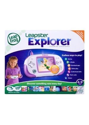 LeapFrog - Leapster Explorer Pink Learning Console