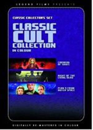 Classic Cult Collection (Plan 9 From Outer Space / Night of the Living Dead / Carnival of Souls)