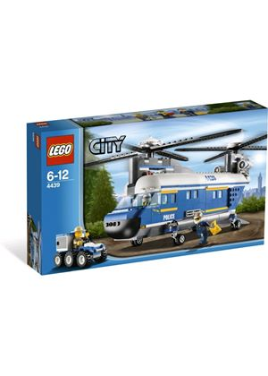 LEGO City 4439:  Heavy-lift Helicopter