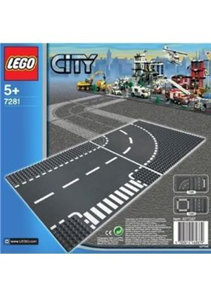 LEGO City 7281: T-Junction and Curve