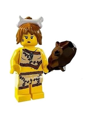 LEGO 8805 Minifigure Series 5 - Cavewoman (Unsealed)