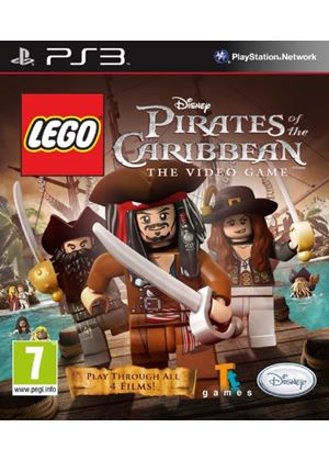 LEGO - Pirates of the Caribbean: The Video Game (PS3)