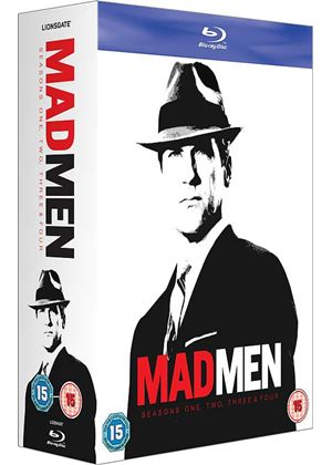 Mad Men - Seasons 1-4 (Blu-ray)