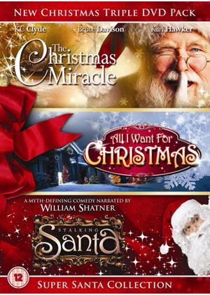 Super Santa Christmas Triple DVD Pack