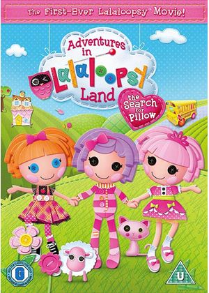 Adventures in LalaLoopsy Land: The Search for Pillow (including Double Sided Poster)