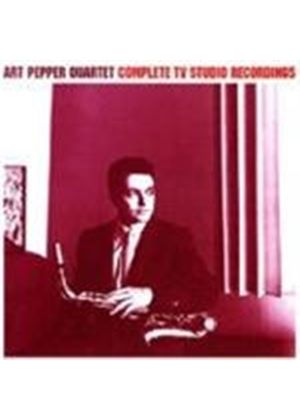 ART PEPPER QUARTET - Complete TV Studio Recordings [Remastered]