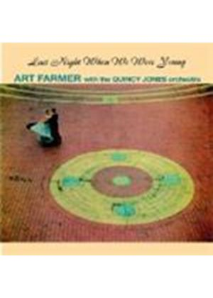 Art farmer & Quincy Jones Orchestra (The) - Last Night When We Were Young