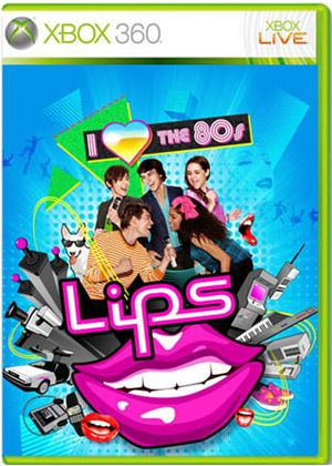 Lips - I Love the 80s - Game ONLY (XBox 360)