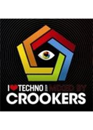 Crookers - I Love Techno 2009 (Music CD)