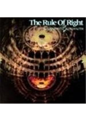 Kelly Simonz - The Rule Of Right (Music Cd)