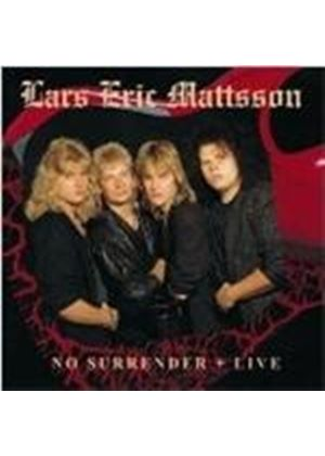 Lars Eric Mattsson - No Surrender/Live (Music CD)