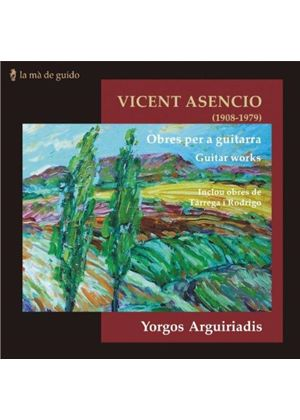 Vincent Asencio: Obres per a guitarra (Music CD)