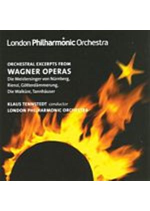 Richard Wagner - Orchestral Excerpts From Wagner Operas (Tennstedt, LPO) (Music CD)