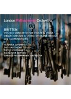 Britten: Double Concerto; (Les) Illuminations; Bridge Variations (Music CD)