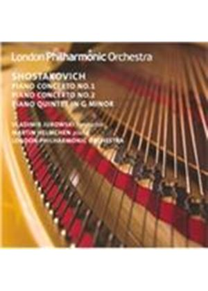 Shostakovich: Piano Concertos Nos. 1 & 2; Piano Quintet in G minor (Music CD)