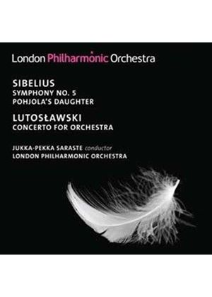 Sibelius: Symphony No. 5; Pohjola's Daughter; Lutoslawski: Concerto for Orchestra (Music CD)