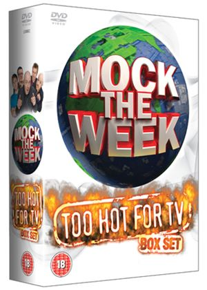 Mock the Week Too Hot For TV Box Set