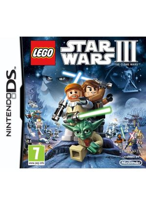 LEGO Star Wars III - The Clone Wars (Nintendo DS)