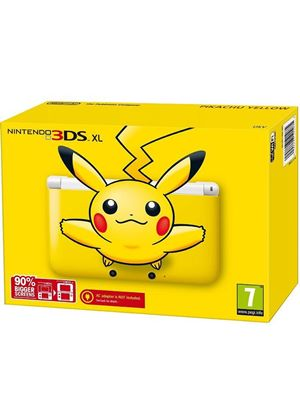 Nintendo Handheld Console 3DS XL - Limited Edition Pikachu Yellow