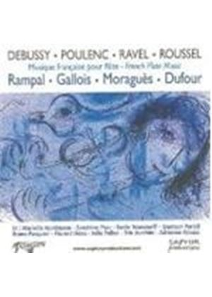 Debussy; Poulenc; Ravel: French Flute Works