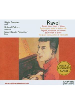 Maurice Ravel - Sonatas For Violin And Piano (Pennetier, Pidous)
