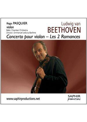 Beethoven: Concerto pour violon; Les 2 Romances (Music CD)