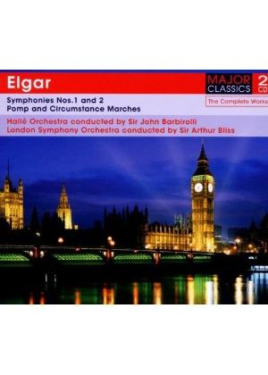 Elgar: Symphonies Nos. 1 and 2; Pomp and Circurmstance Marches (Music CD)