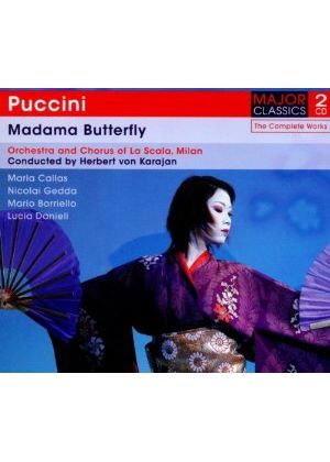 Puccini: Madama Butterfly (Music CD)