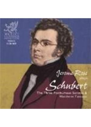 Franz Schubert - Three Posthumous Sonatas And Wanderer Fantasie (Rose)