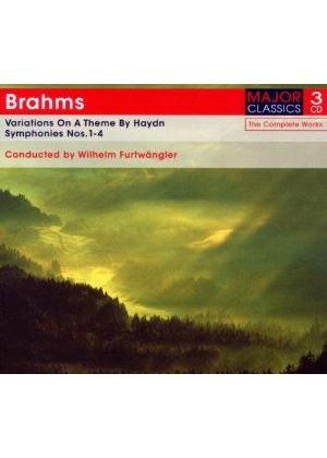 Brahms: Variations on a Theme by Haydn; Symphonies Nos. 1-4 (Music CD)