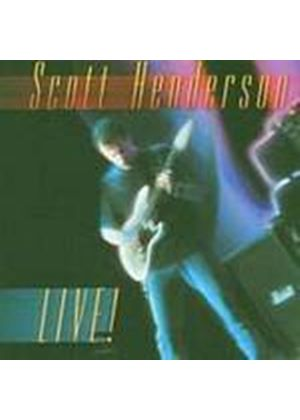 Scott Henderson - Live (Music CD)