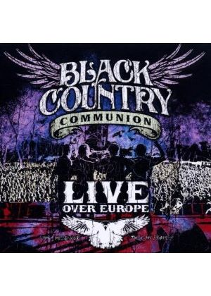 Black Country Communion - Live over Europe (Live Recording) (Music CD)