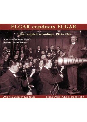 Elgar Conducts Elgar: The Complete Recordings 1914-1925 (Music CD)