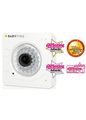 BabyPing Wi-Fi Baby Video Monitor for iPhone, iPad and iPod Touch