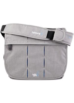 DayTripper Deluxe Unisex Satchel Changing Bag (Grey)