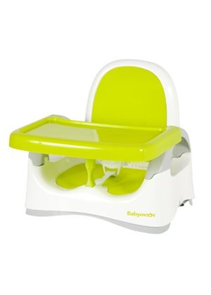Compact Booster Seat (White/Green)