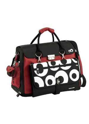 Baby Changing Bag (Red/Black) - Free Hand