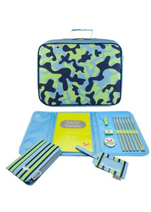 TrayKit Traveller Collection Blue Camo