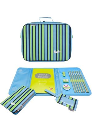 TrayKit Traveller Collection Stripe & Crocodile