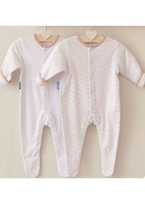Fluffy Clouds Gro-Suit 2-Pack
