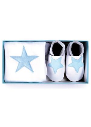Star Boxed Gift Set - Babygrow & Shoes