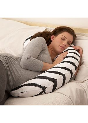 By Carla Nougat Mum and Baby Support Pillow with Additional Cover
