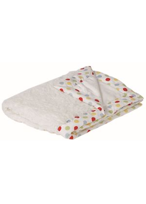 Polka Dot Fluffy Baby Blanket