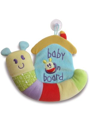 Softly Snail Baby on Board Sign
