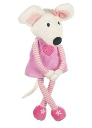 Evie the Pink Mouse Soft Toy