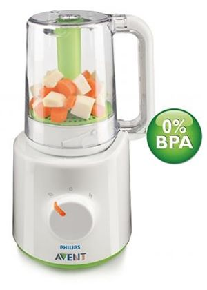 Combined Baby Food Steamer and Blender