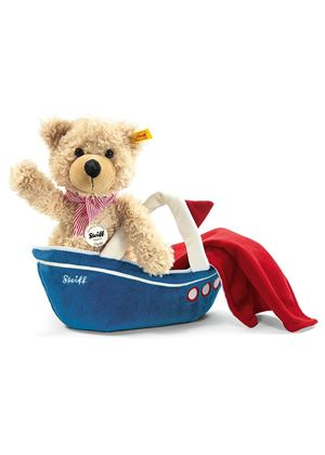 Charly Dangling Teddy Bear with Bag