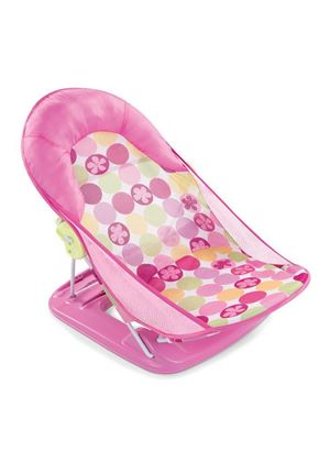 Deluxe Baby Bather - Pink Circle Daisy