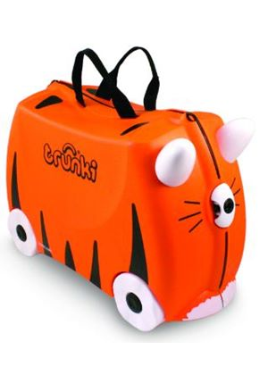 Tipu the Tiger Ride-on Trunki Suitcase